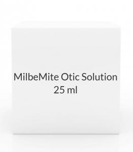 MilbeMite Otic Solution (0.1% milbemycin oxime)-2- 0.25ml Tubes