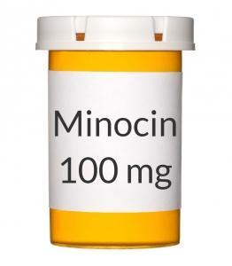 Minocin 100mg Capsules