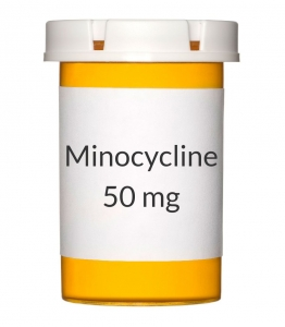 Minocycline 50 mg Capsules (Generic Minocin)