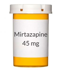 Mirtazapine 45mg Tablets