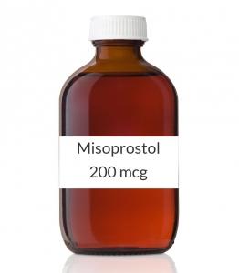 Misoprostol 200 mcg Tablets - 60 Count Bottle