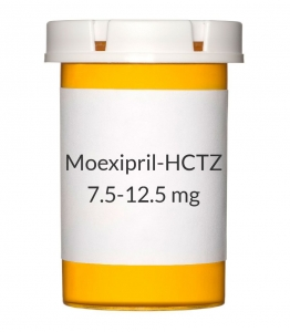 Moexipril-HCTZ 7.5-12.5 mg Tablets ***Temporary Price Increase Due To Manufacturing Issues. Possible Shipping Delays.***