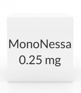 MonoNessa 0.25mg-35mcg Tablets - 28 Tablet Pack