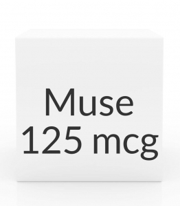 Muse 125mcg Suppository