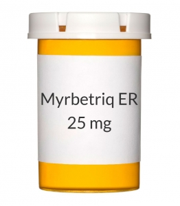 Myrbetriq ER 25mg Tablets