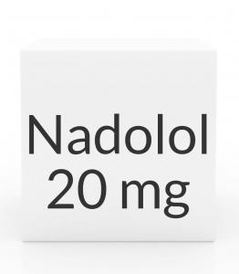 Nadolol 20mg Tablets (Greenstone)