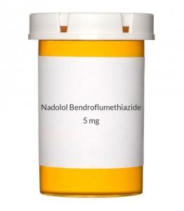 Nadolol Bendroflumethiazide 80/5mg Tablets