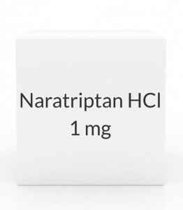 Naratriptan HCl 1 mg Tablets - Box of 9 Tablets