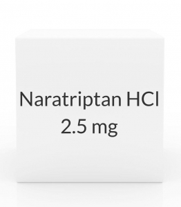 Naratriptan HCl 2.5 mg Tablets - Box of 9 Tablets