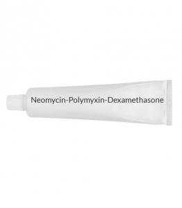 Neomycin/Polymyxin/Dexamethasone 0.1% Opthalmic Ointment