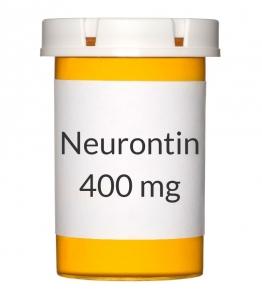 Neurontin 400mg Capsules