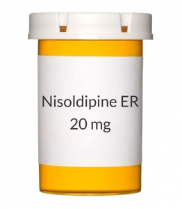 Nisoldipine ER 20mg Tablets