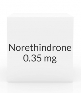 Norethindrone 0.35mg Tablets- 28 Tablet Pack