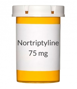 Nortriptyline 75mg Capsules