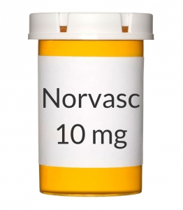 Norvasc 10mg Tablets