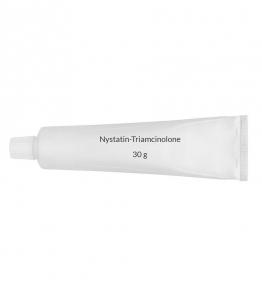 Nystatin-Triamcinolone 100,000U-0.1% Cream - 30 g Tube