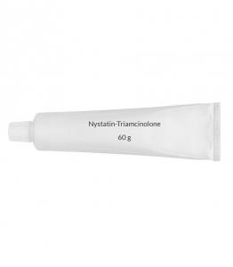 Nystatin-Triamcinolone 100,000U-0.1% Ointment (60 g Tube)