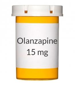 Olanzapine 15 mg Tablets (Generic Zyprexa)