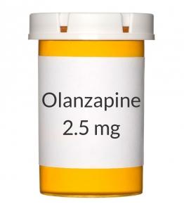 Olanzapine 2.5 mg Tablets (Generic Zyprexa)