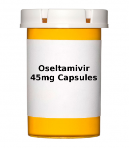 Oseltamivir 45mg Capsules - Pack of 10 Capsules