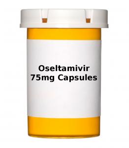 Oseltamivir 75mg Capsules - Pack of 10 Capsules