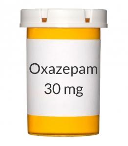 Oxazepam 30mg Capsules