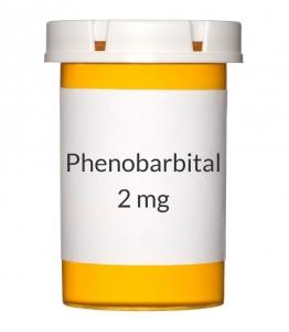 Phenobarbital 97.2 mg (1.5 grain) Tablets