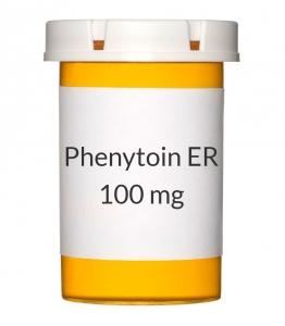 Phenytoin ER 100 mg Capsules (Generic Dilantin)