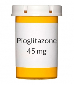 Pioglitazone 45 mg Tablets (Generic Actos)