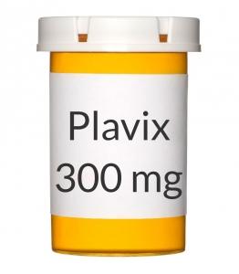 Plavix 300mg Tablets