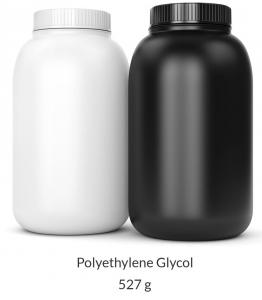 Polyethylene Glycol 3350 (PEG-3350) Powder - 4 Liter (527g) Bottle