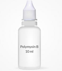 Polymyxin B/Trimethoprim Opthalmic Solution - 0.1% (10ml)