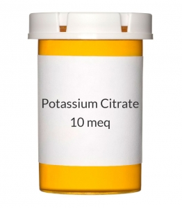 Potassium Citrate 10meq Tablets