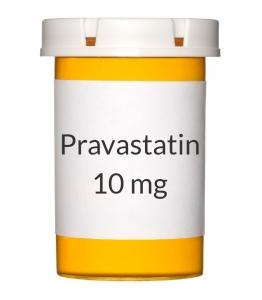 Pravastatin 10 mg Tablets (Generic Pravachol)