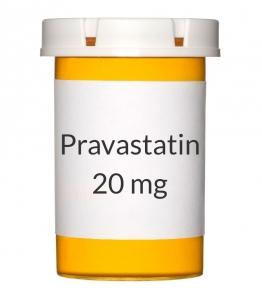 Pravastatin 20 mg Tablets (Generic Pravachol)
