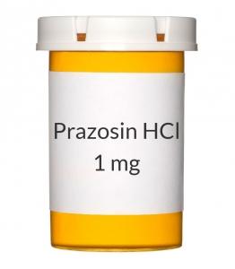 Prazosin HCl 1mg Capsules