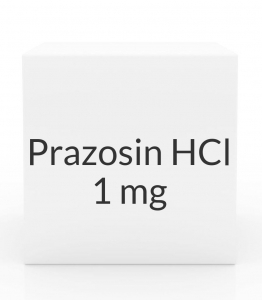 Prazosin HCl 1mg Capsules (Greenstone)