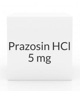 Prazosin HCl 5mg Capsules (Greenstone)