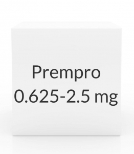 Prempro 0.625-2.5mg Tablets - 28 Tablet Pack