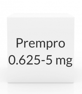 Prempro 0.625-5mg Tablets - 28 Tablet Pack