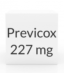 Previcox 227mg Chewable Tablets-60 Count Box