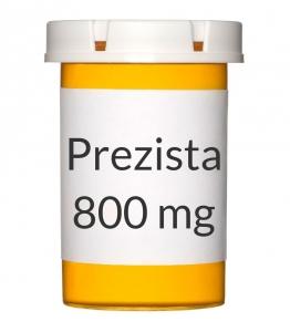 Prezista 800mg Tablets - 30 Count Bottle