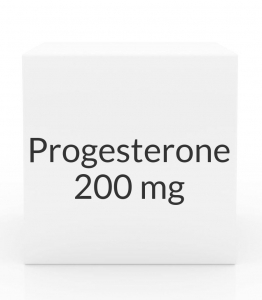 Progesterone 200mg Vaginal Suppositories- 30ct