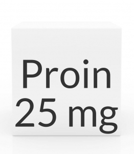 Proin 25mg (Phenylpropanolamine Hydrochloride) Chewable Tablets-60ct