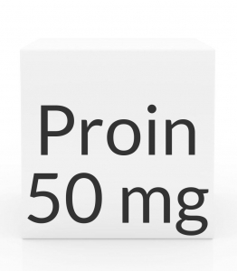 Proin 50mg (Phenylpropanolamine Hydrochloride) Chewable Tablets-60ct