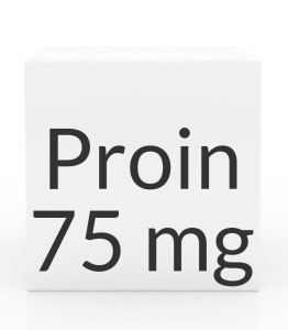Proin 75mg (Phenylpropanolamine Hydrochloride) Chewable Tablets-60ct