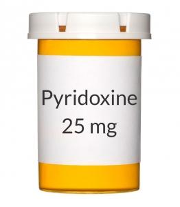 Pyridoxine 25mg Tablets
