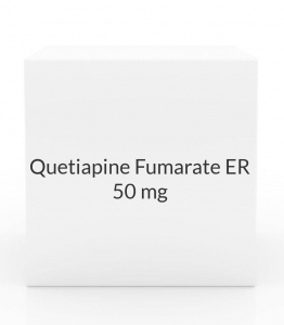 Quetiapine Fumarate ER 50mg Tablets
