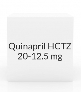 Quinapril HCTZ 20-12.5 mg Tablets (Greenstone)