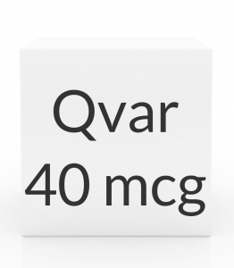 Qvar 40mcg Aerosol Inhaler (8.7 g) ***Currently Unavailable Due To Manufacturing Issues. No Expected Restocking Date***